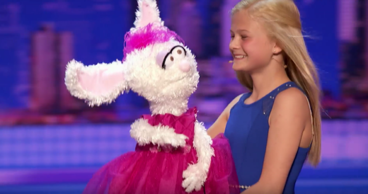 Girl Singing Ventriloquist on Americas Got Talent